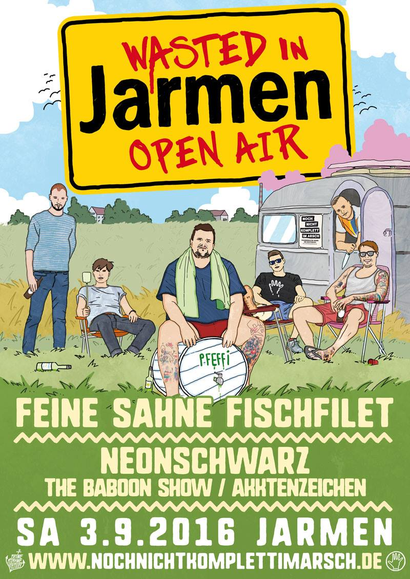 Wasted in Jarmen - Open Air