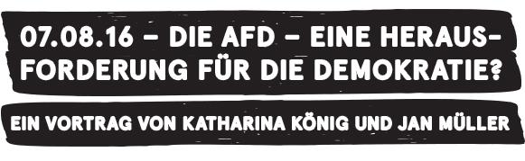 Ein Vortrag von Katharina König und Jan Müller